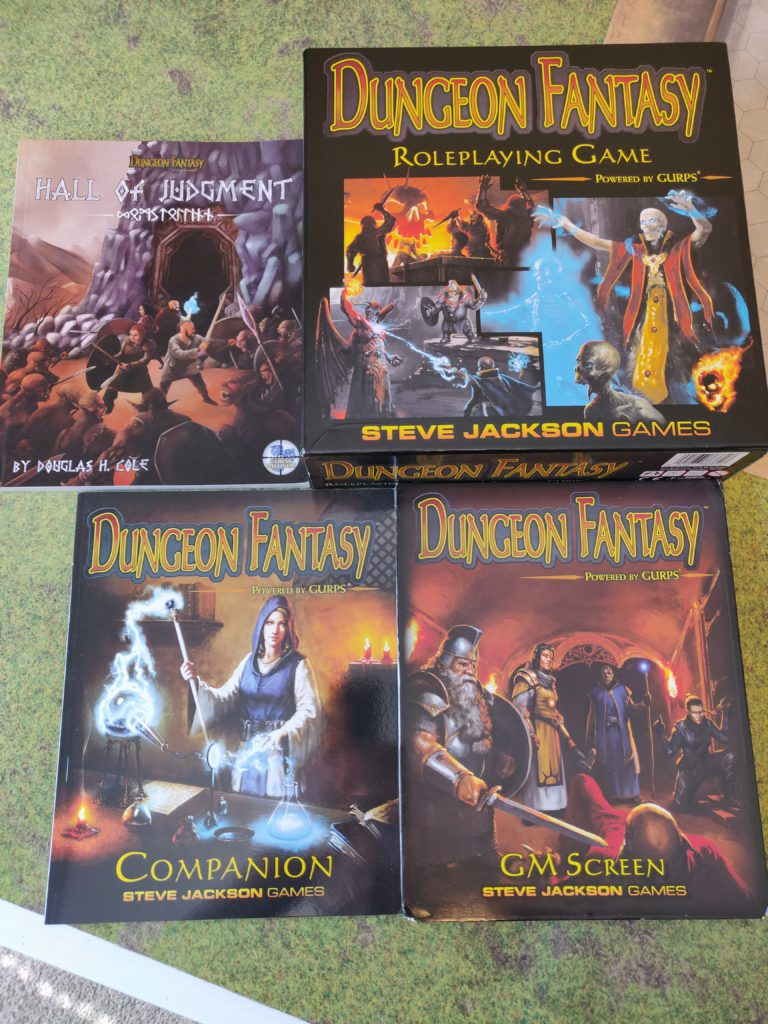 Dungeon Fantasy RPG Lot