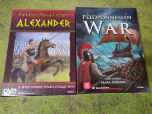 Field Commander Alexander and Peloponnesian War