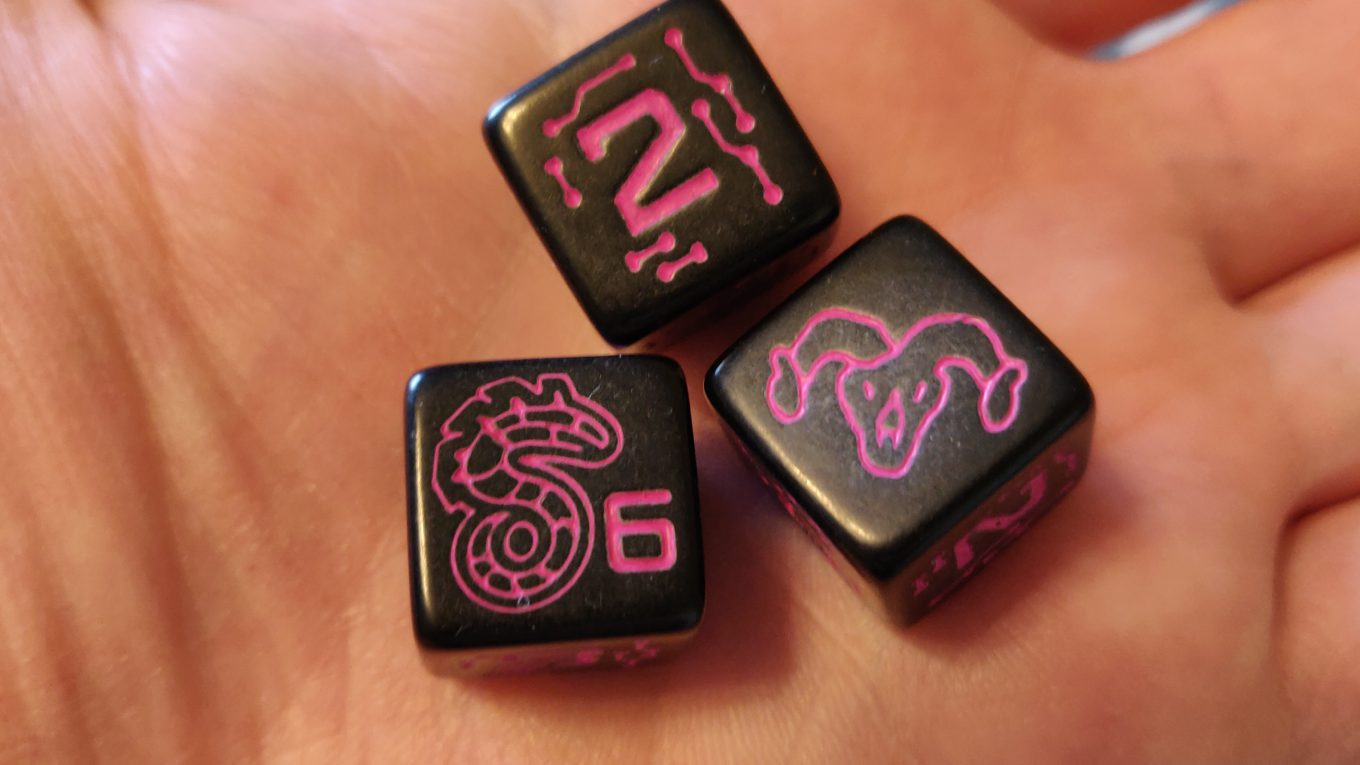Shadowrun Dice