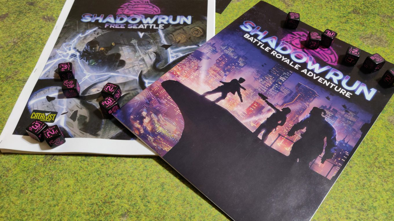 Shadowrun Battle Royale and Free Seattle