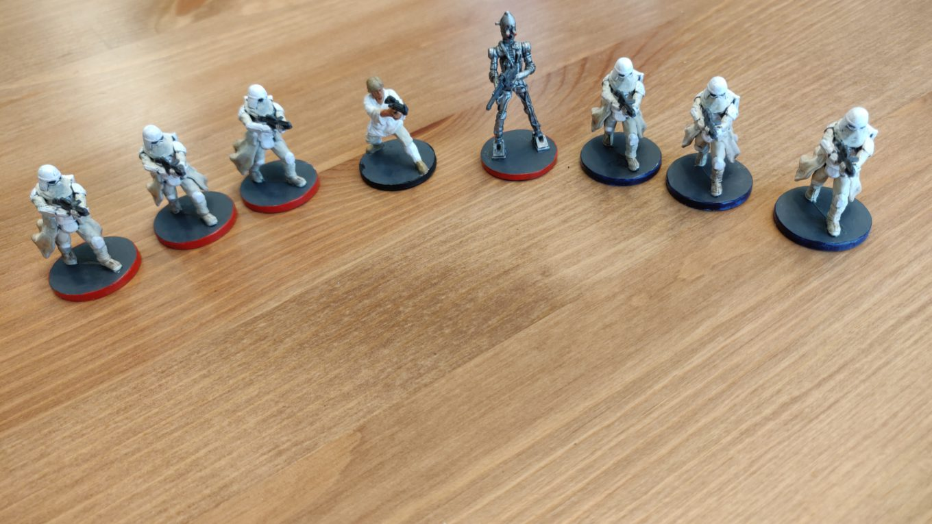 Star Wars Imperial Assault painting 08302020
