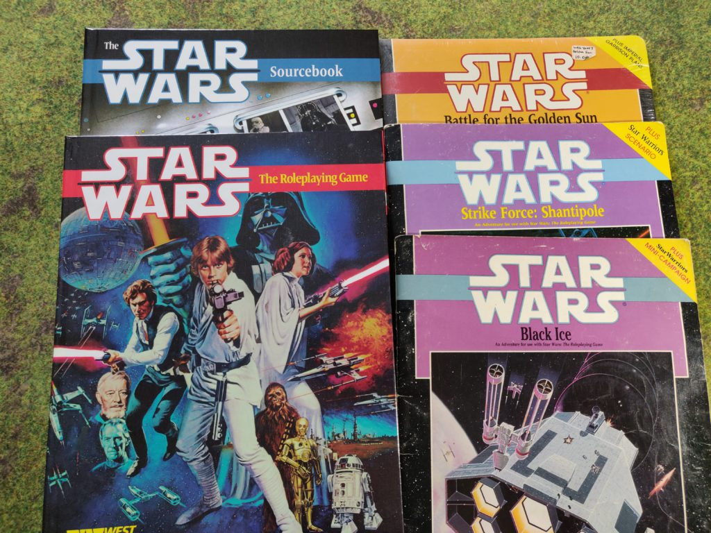 Star Wars RPG Books