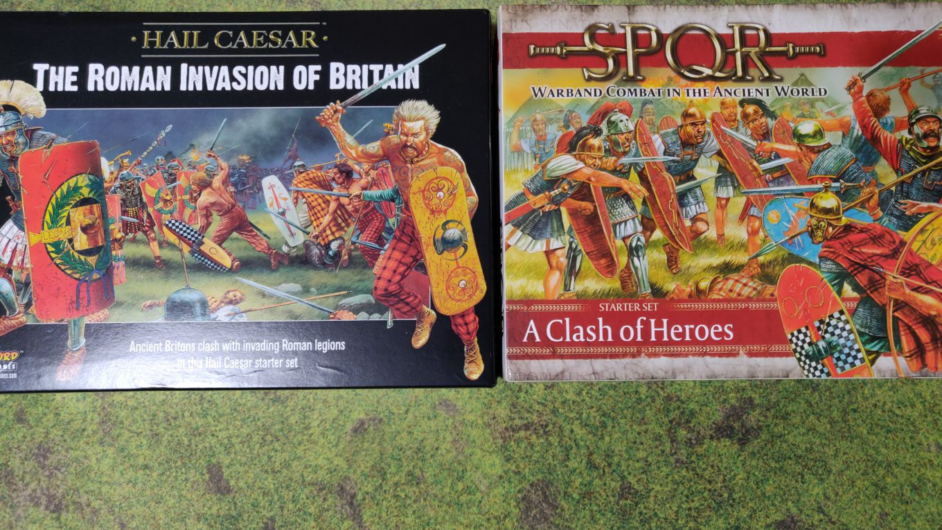 Hail Caesar and SPQR starter sets